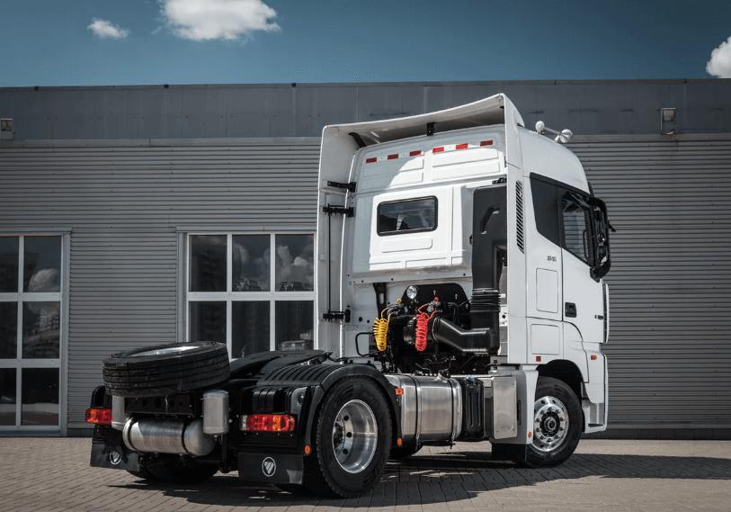 รถบรรทุก Foton Auman EST review 1
