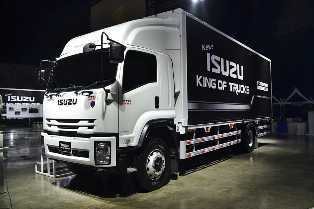 รถบรรทุก Isuzu King of Truck 2018