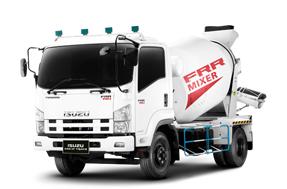 รถบรรทุก izuzu ผสมปูน frr-mixer 190