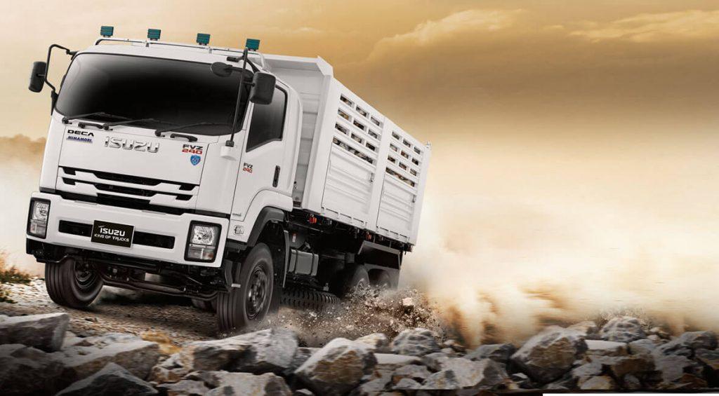 รีวิวเปิดตัวรถบรรทุก Isuzu FVZ King of Truck 2018