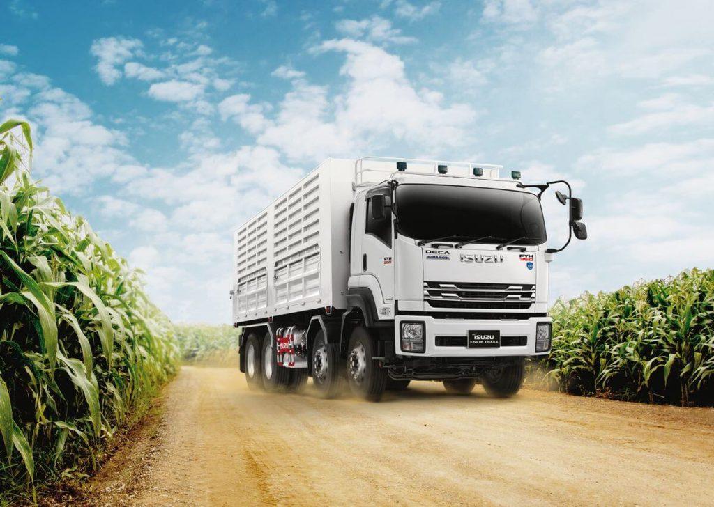 รีวิวเปิดตัวรถบรรทุก Isuzu FYH King of Truck 2018 NLM