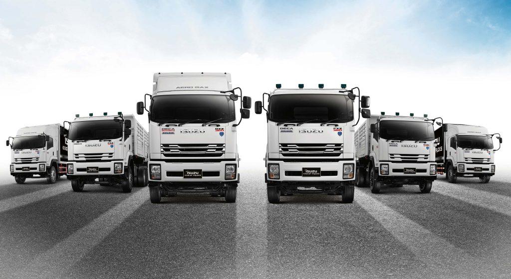 ราคารถบรรทุก Isuzu King of Truck 2018
