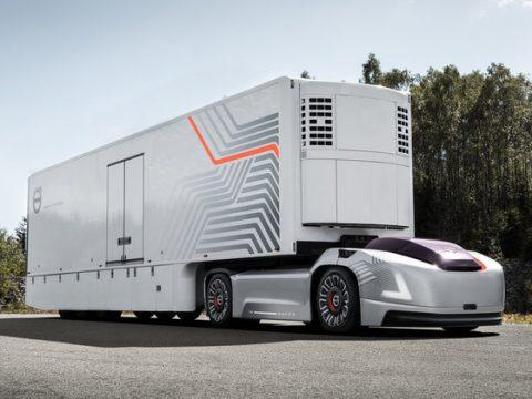 รีวิวรถบรรทุกที่ขับเคลื่อนอัตโนมัติ VOLVO VERA รถต้นแบบแห่งอนาคต