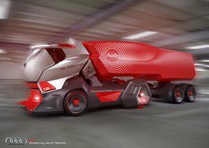รีวิวรถบรรทุกต้นแบบ2018 Audi HMV Concept