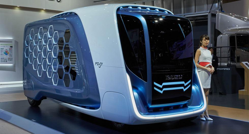 รถบรรทุกต้นแบบ ISUZU FD-SI Concept