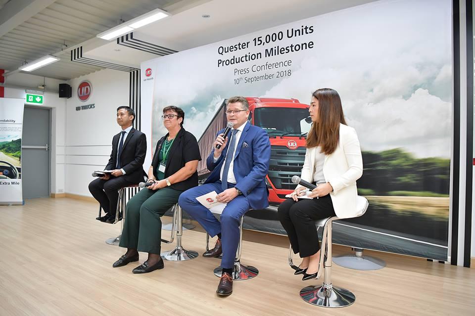 UD Truckลองยอดผลิตรุ่น QUESTER ครบ 15,000 คัน