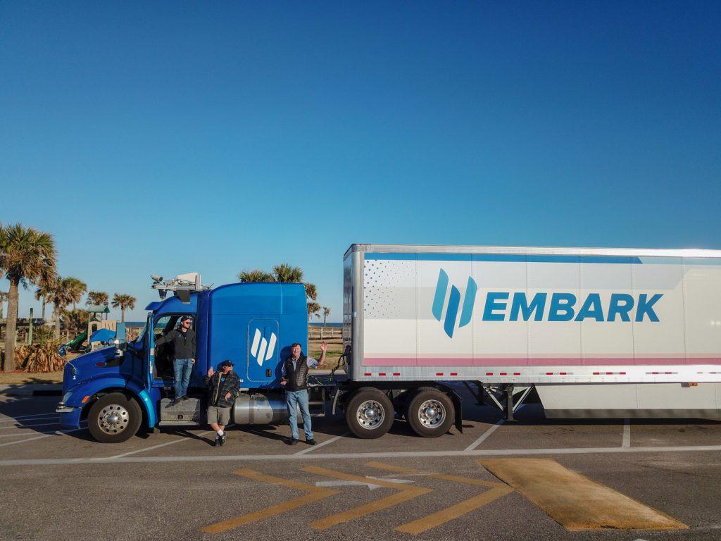 Embark รถบรรทุกขับเคลื่อนอัตโนมัติ สามารถเดินทางไกลถึง 2,400 ไมล์