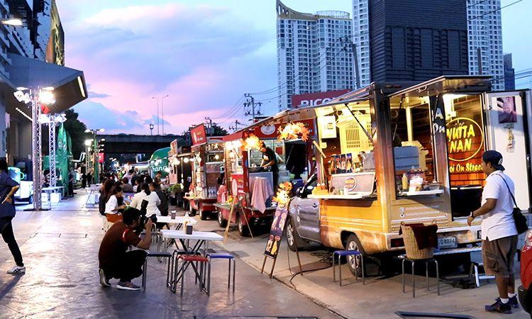 ปัญหาที่ฟู้ดทรัค Food Truck ต้องเจอ ปัญหาเรื่องคู่แข่ง ตลาดสีแดงเดือด