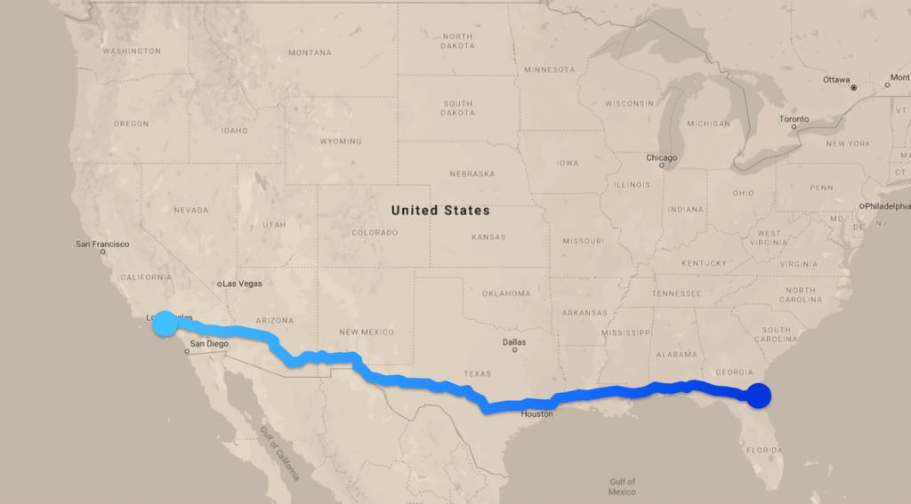 แผนที่เส้นทางเดินรถ